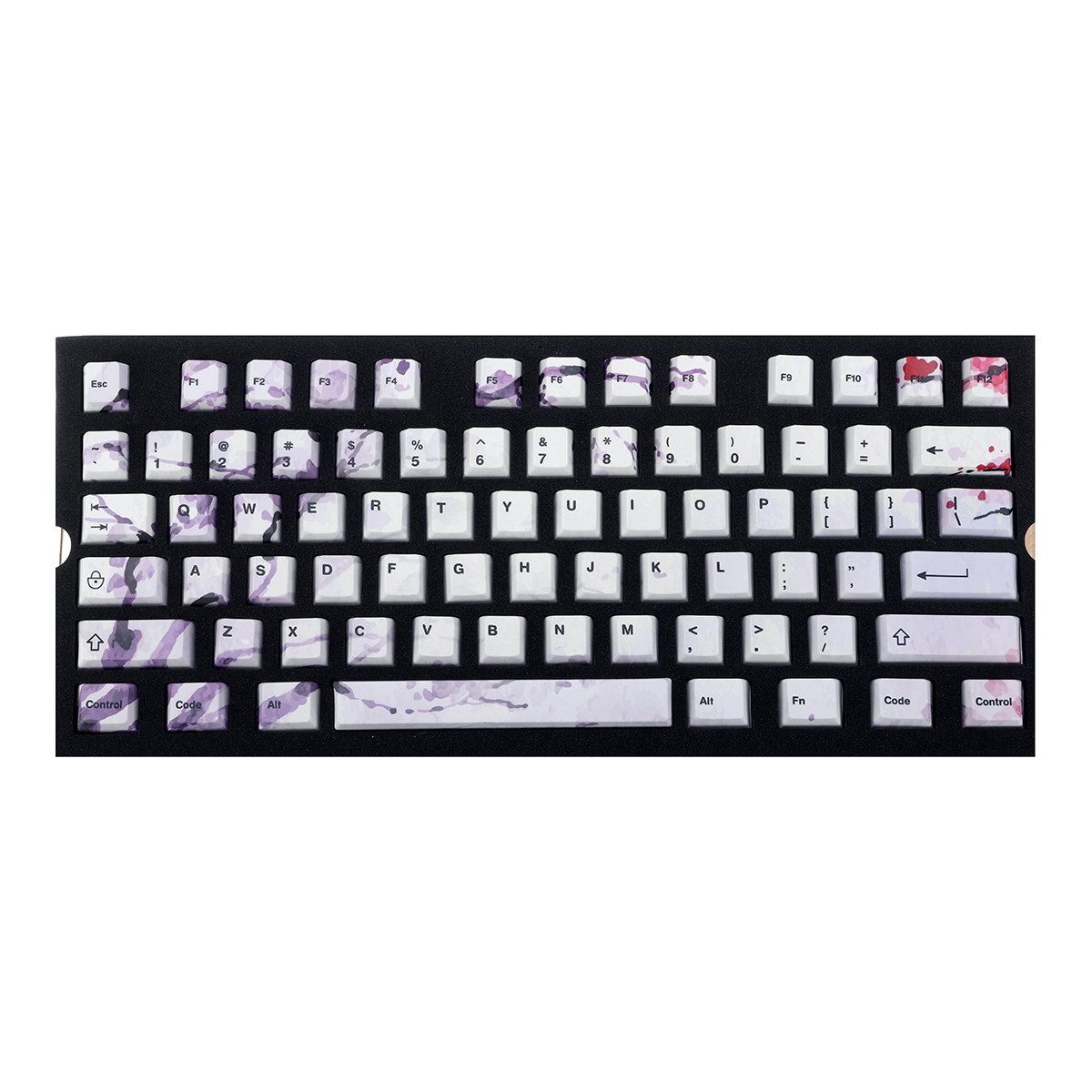 Color : Winter Day Keyboard keycaps 108 Keys Five PBT Thermal Keycaps for Mechanical Gaming Keyboard