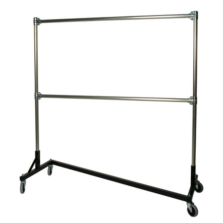 clothes amazon boutiques rack adjustable dp duty commercial height heavy garment rail clothing langria double for com racks grade