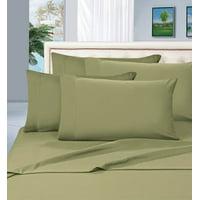 Elegant Comfort 1800 Thread Count Deep Pocket 4pc Bed Sheet Set , Queen Black