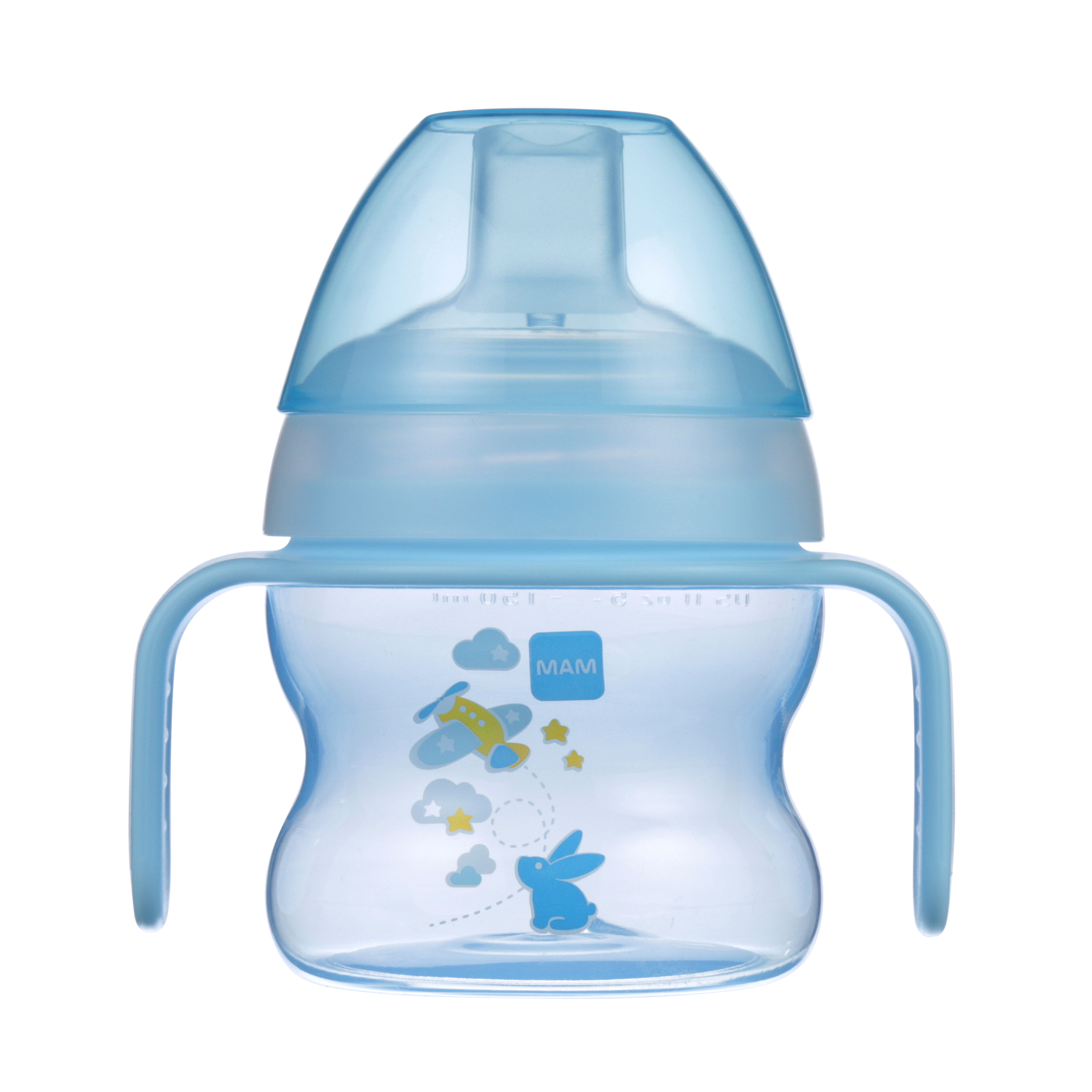 MAM Starter Cup with extra soft spout, 5 oz, 1-Count, Boy by MAM