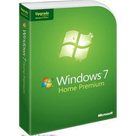 Microsoft Windows 7 Home Premium Upgrade (Upgrade Windows 7 Home Basic To Professional)