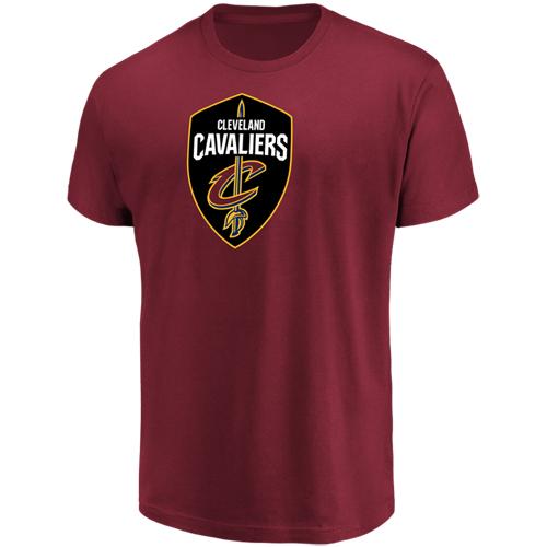 Men's Majestic Garnet Cleveland Cavaliers Victory Century T-Shirt