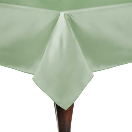 Ultimate Textile Bridal Satin 45 x 45-Inch Square Tablecloth