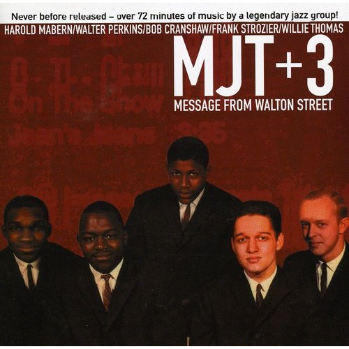 """MJT"" stands for the ""Modern Jazz Two"" consisting of Walter Perkins and Bob Cranshaw.<BR>MJT + 3: Frank Strozier (alto saxophone); Willie Thomas (trumpet); Harold Mabern (piano); Bob Cranshaw (bass); Walter Perkins (drums).<BR>Producer: Sid McCoy.<BR>Reissue producer: Donald Elfman, Naomi Yoshii.<BR>Recorded at Universal Recorders Studio ""A"", Chicago, Illinois on October 20, 1960. Originally released on Vee Jay LP (3014). Includes liner notes by Joel Forrester.<BR>All tracks have been digitally remastered using 24-bit technology."