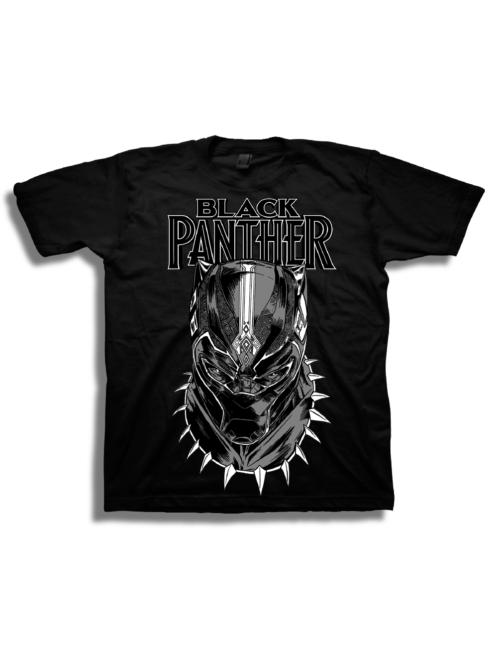 Marvel Black Panther Boys' Super Hero Portrait Short Sleeve Graphic T-Shirt