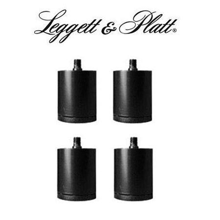 leggett and platt adjustable bed 2 inch riser legs set of 4 black - Leggett And Platt Adjustable Bed