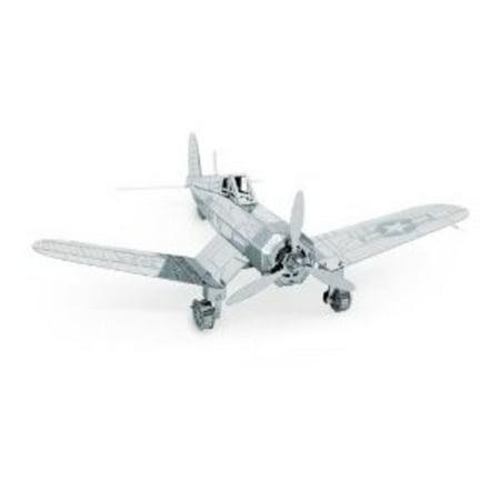 Metal Works 3D F4U Corsair Laser Cut Model Multi-Colored (F4u Corsair Aircraft)