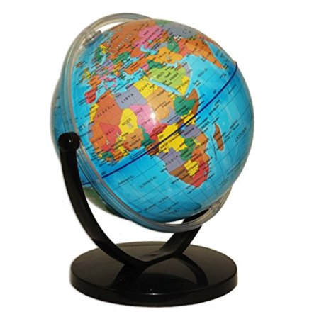 - political world globe desktop stand, office and school swivel rotating 7