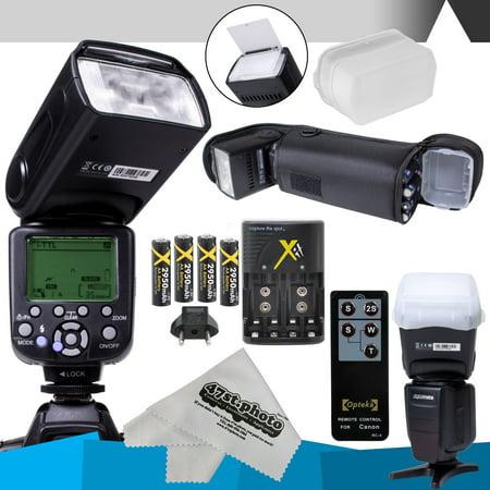Digitalmate Sb680 E Ttl Flash Kit For Nikon Dslr D7200 D7000 D5500 D5300 D5200 D5100 D5000 D3300 D3200 D3100