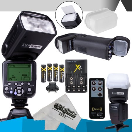 Buy Now DigitalMate DM680 E-TTL Flash Kit for CANON DSLR Rebel T6i, T6s, T5i, T4i, T3i, T2i, T1i, T5, T3, XT, XS, XSi, EOS 70D Before Special Offer Ends
