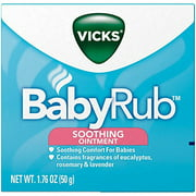 Best Vicks For Kids - 5 Pack - Vicks Babyrub Soothing Ointment Comfort Review
