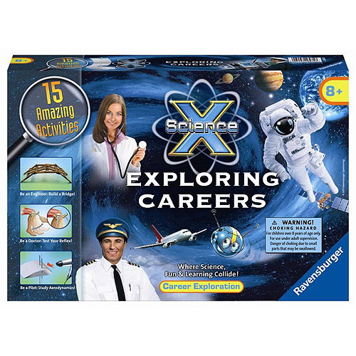 Ravensburger Science X Kit, Exploring Careers