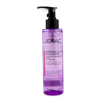Lierac Micellar Cleansing Water (face & Eyes)  200ml/6.8oz