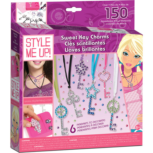 Style Me Up Sweet Key Charms