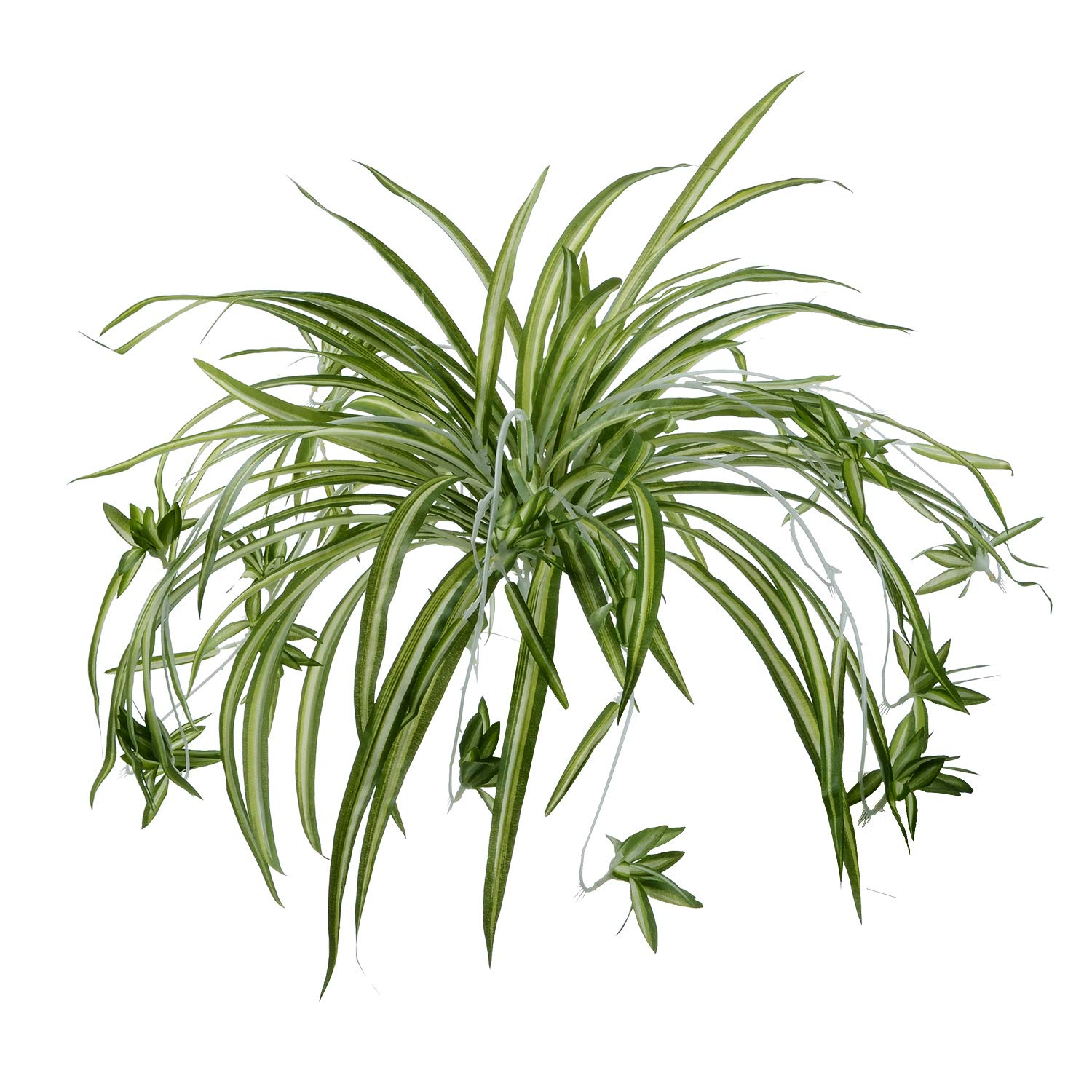 Large Artificial Spider Plant Silk Hanging Leaves Bush Home /& Office Decor