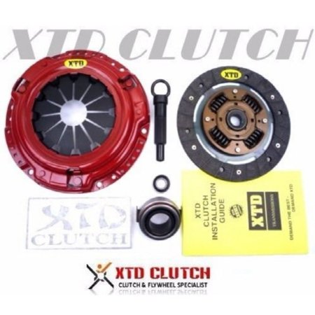 XTD STAGE 1 HEAVY DUTY CLUTCH KIT 1989 HONDA CIVIC & CRX (200MM / - 1989 Honda Civic Bumper