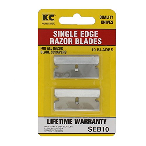 KC Professional SEB10 10 Pack Single Edge Razor Blades