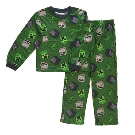 Minecraft Creeper and Enderman Boys Pajamas