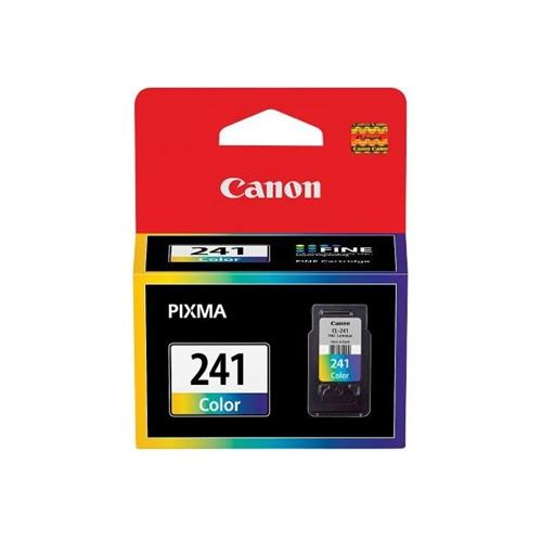 Canon CL-241 Color Ink Cartridge for Pixma MG4120, MG3120 and MG2120 Wireless Photo All-in-One Inkjet Printers 5209B001