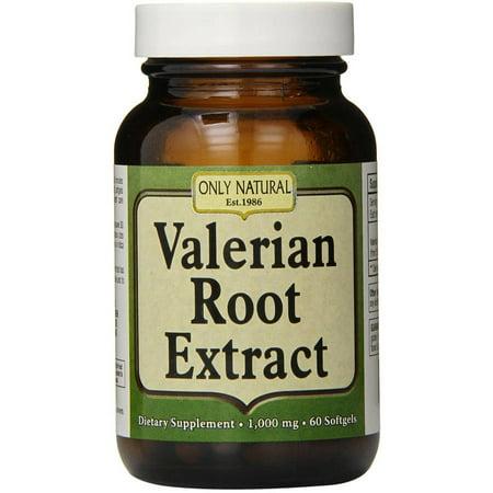 ONLY NATURAL racine de valériane gélules, 60 CT