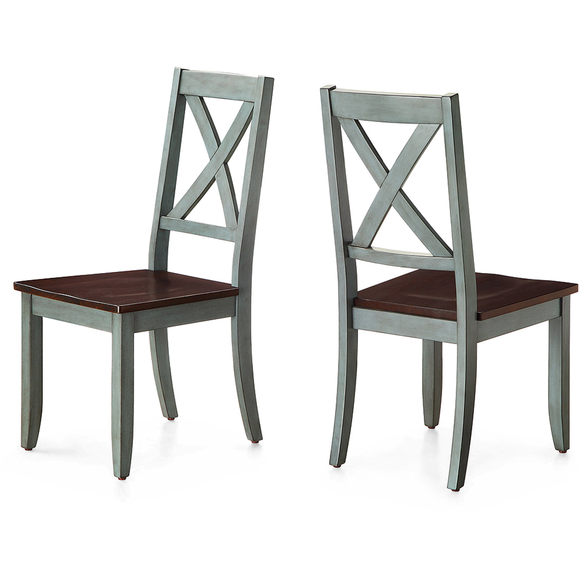 Better Homes and Gardens Maddox Crossing Dining Chair, Blue, Set of 2 by Better Homes and Gardens