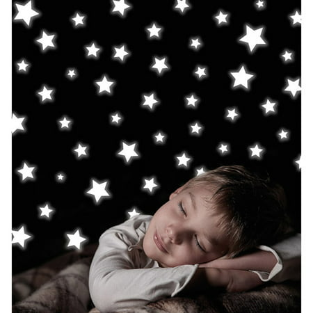 Home Decor Line Stars Glow In The Dark Wall Decals