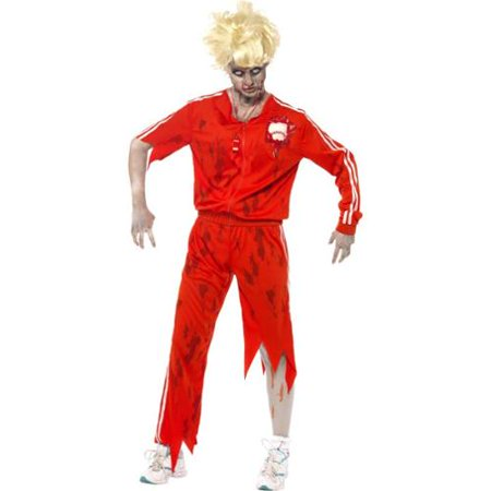 Teacher Friendly Halloween Costumes (Zombie Sports Teacher Adult)