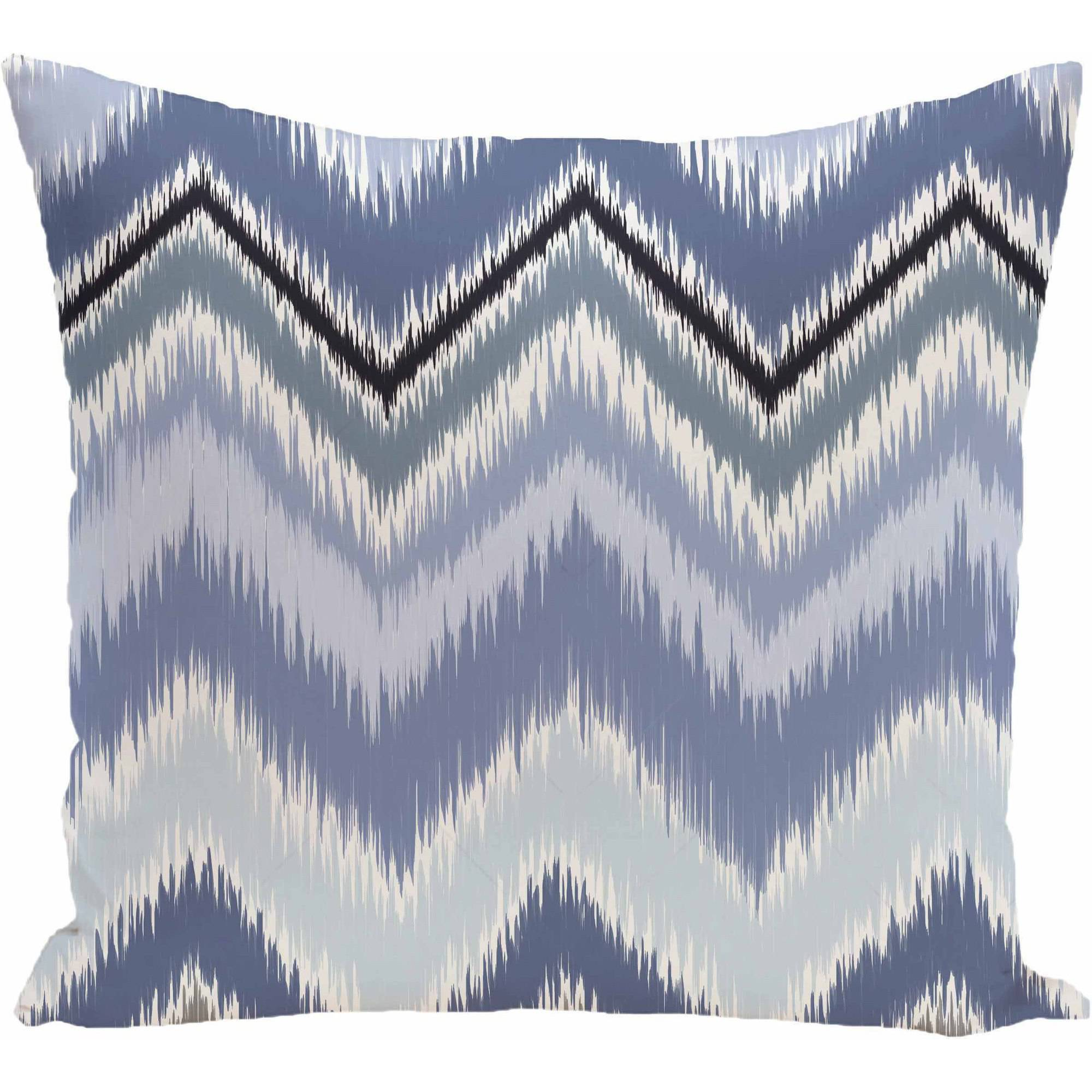 "Simply Daisy Stripe Print Decorative Pillow, 16"" x 16"""