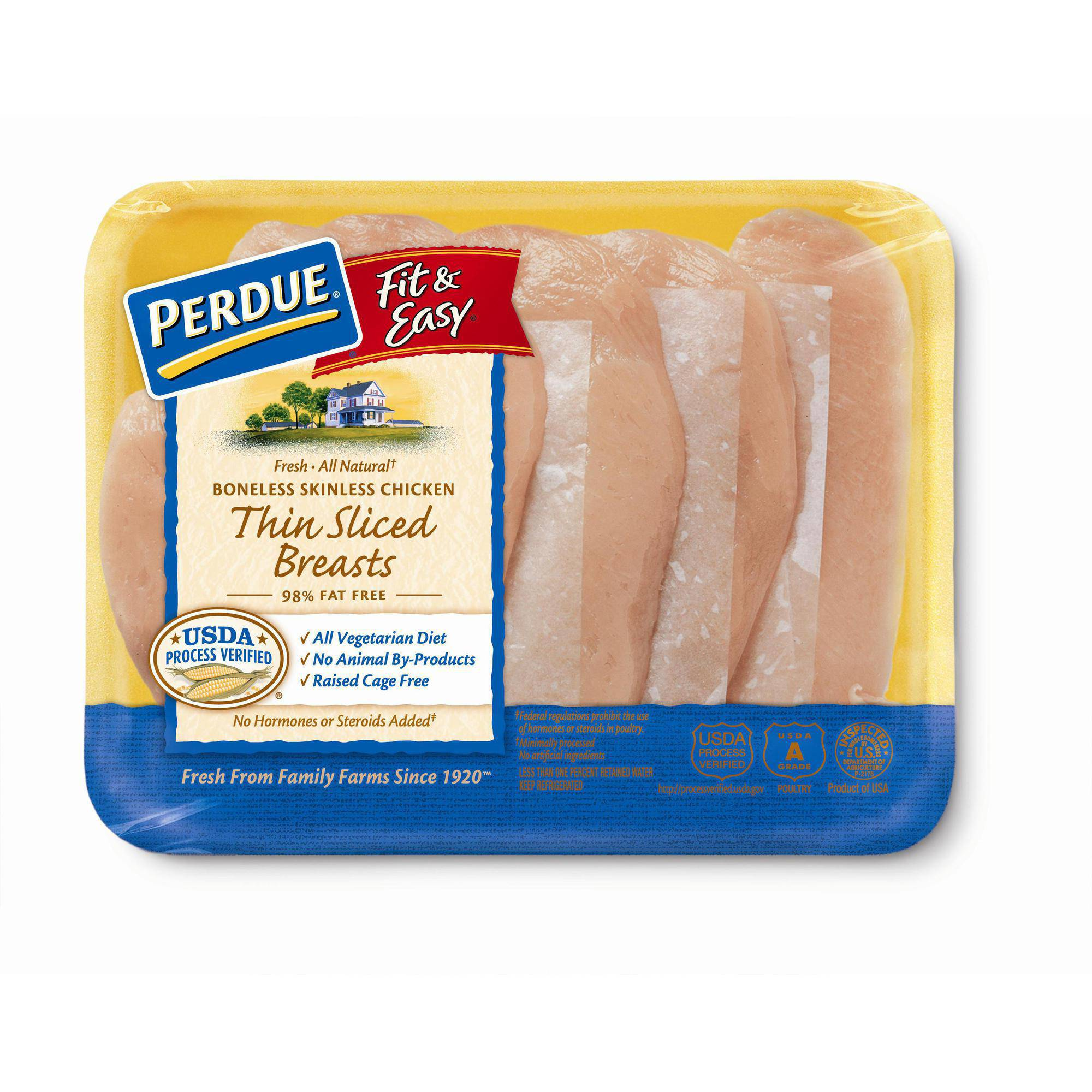 Perdue Bedroom Furniture Perdue Fit Easy Boneless Skinless Thin Sliced Chicken Breasts