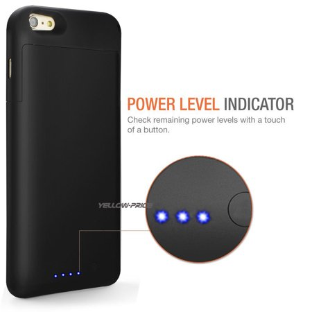 LivEditor Top Ultra Power Bank Battery Charger Phone Case Cover For iPhone 6 Plus, 6S Plus - image 1 de 7