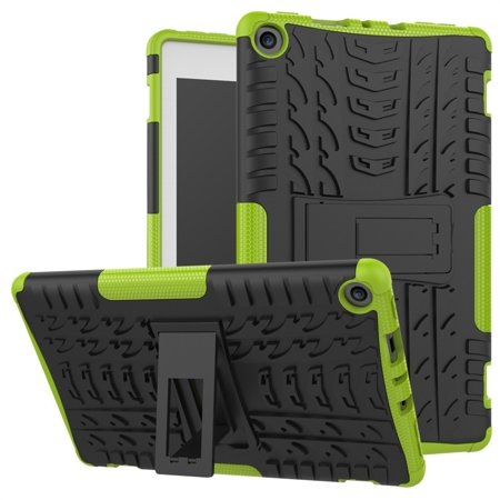 For Amazon Kindle Fire HD 8 2017/2018 Hybrid Rubber Stand Case