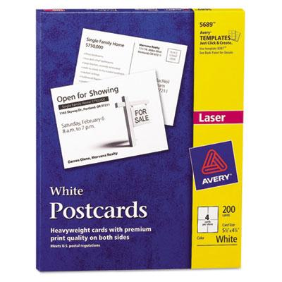 graphic relating to Printable Postcards known as Avery Printable Postcards
