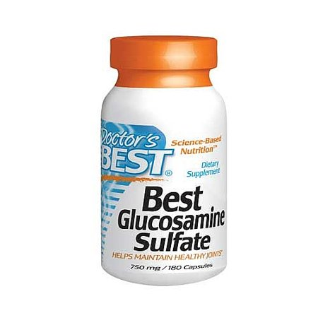 Doctor's BEST Meilleur Glucosamine Sulfate 750mg Complément alimentaire Capsules - 180 CT