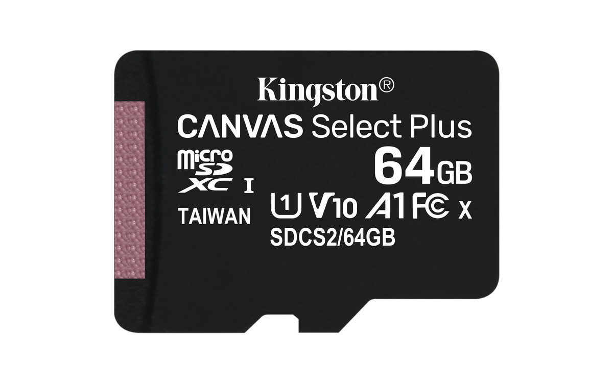 Kingston 64GB Alcatel OneTouch Idol S MicroSDXC Canvas Select Plus Card Verified by SanFlash. 100MBs Works with Kingston