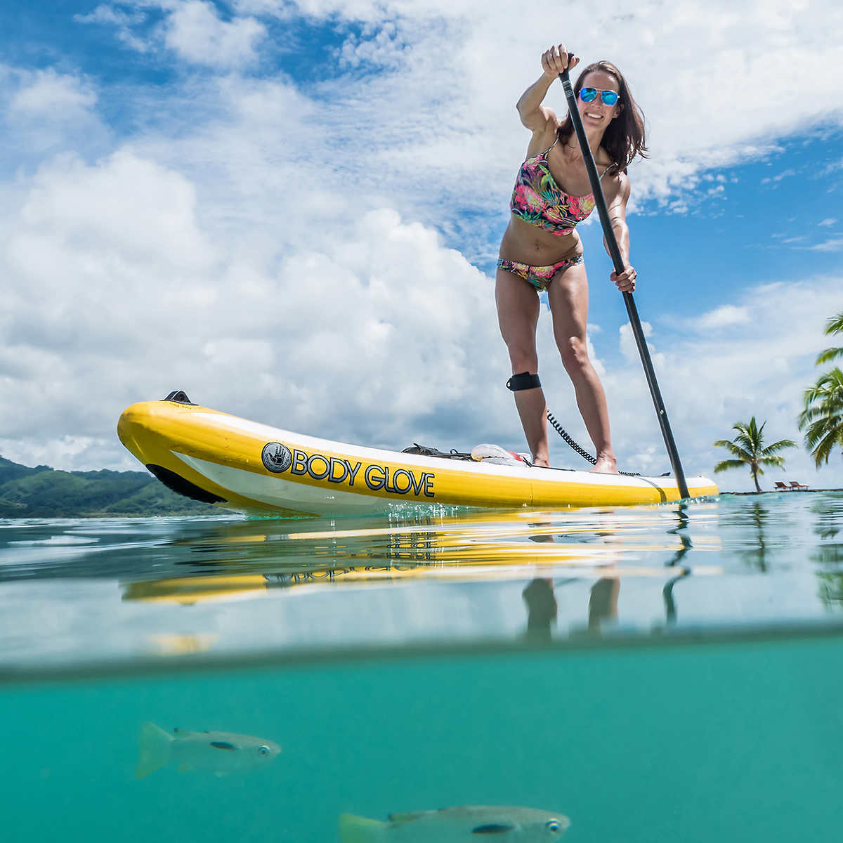 Body Glove Performer 11' Inflatable Stand Up Paddle Board...