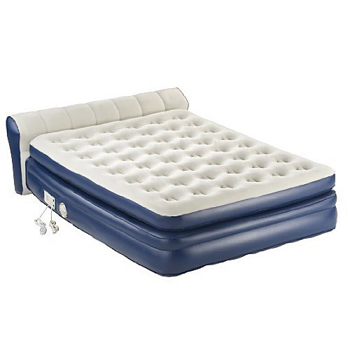 "Aerobed 2000011983 18"" Elevated Queen Airbed Inflatable Mattress Built in Pump"