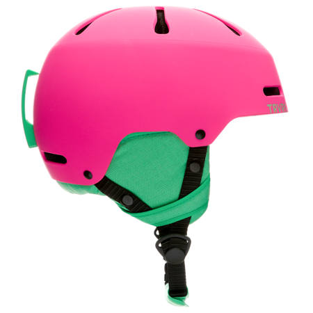 Traverse Sparrow Youth Ski, Snowboard, and Snowmobile Helmet, Matte Magenta, X-Small (48-51.5cm)