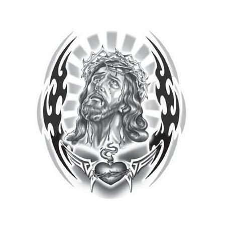 6  X 8  Decal  Tribal Jesus