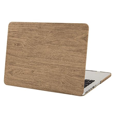 Mosiso MacBook Pro 13 Retina Case, Ultra Slim Lightweight PU Leather Coated Hard Shell Cover For MacBook Pro 13.3