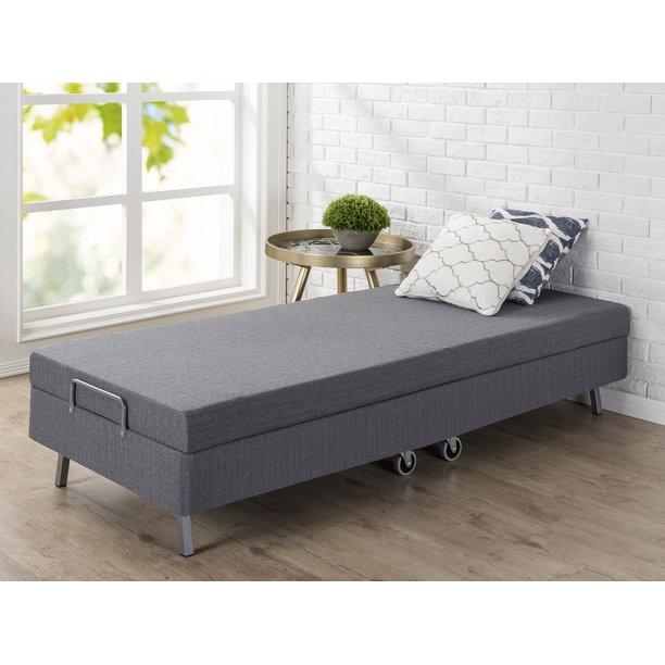 Zinus Memory Foam Resort Folding Guest Bed With Wheels