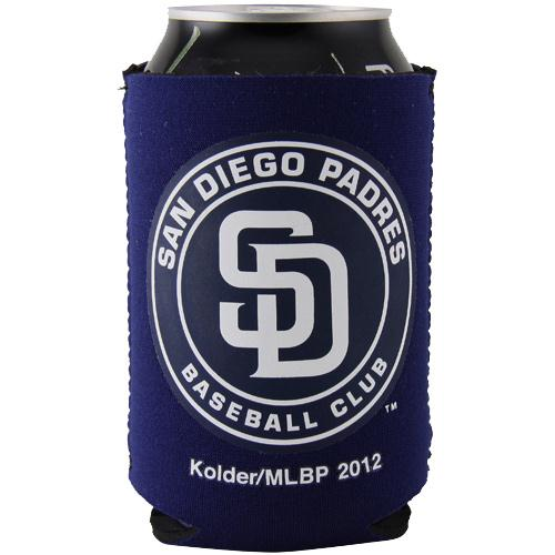 San Diego Padres Collapsible Can Cooler - Navy blue - No Size