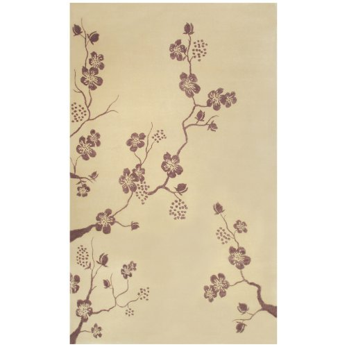 Walt Disney Rug Market Cream/Purple Fantasy Area Rug