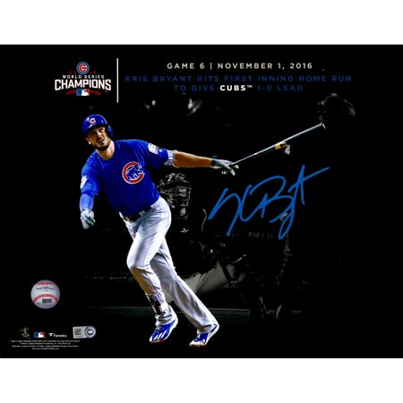 Kris Bryant Chicago Cubs Fanatics Authentic 2016 MLB World Series Champions Autographed 11
