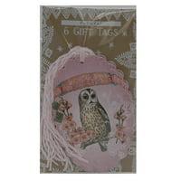 Dreamer Glittered Gift Tag 6 Pack
