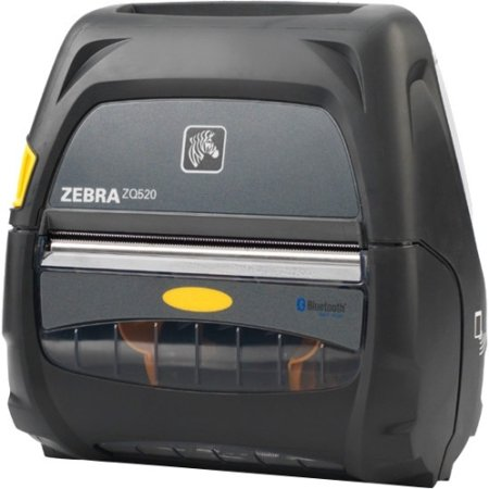 Zebra ZQ520 Direct Thermal Mobile Receipt Printer (Bluetooth (U375 Receipt Printer)