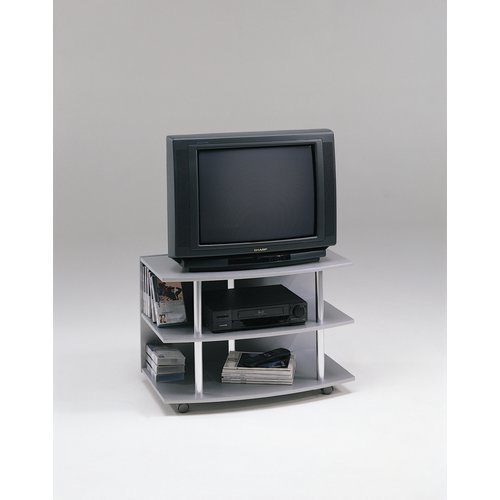 Tv Stand Designs : Walnut and black wood modern tv stand designs columbus ohio vig