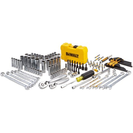 DEWALT Mech Tool Kit, 142 Piece Set, with PTA Case