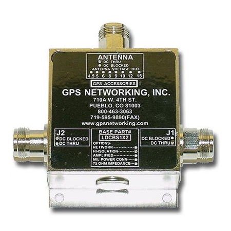 GPS Networking Inc. GPS Passive Antenna Splitter 1x2 by GPS Networking Inc.