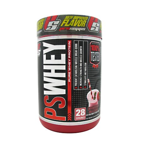 Pro Supps PS Whey Strawberry Milkshake - 2 lbs - Strawberry Milkshakes