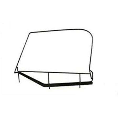 (Soft Top Hardware Window Frame Only 87-95 Wrangler)